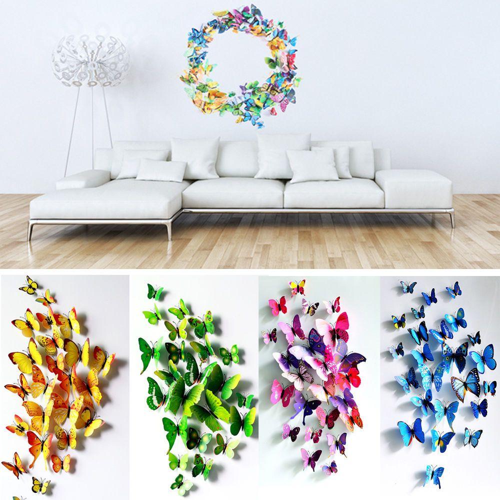 Kleurrijke Vlinders 3D Deluxe Set